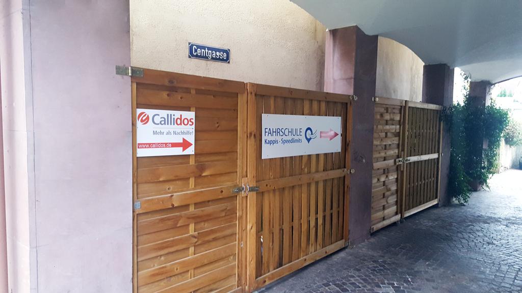 Callidos - Nachhilfe Leimen Eingang